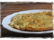 Tortilla bacalao... Receta infancia... para cocina Typical Spanish