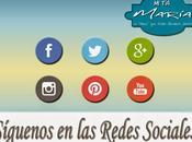 Maris tienen botones Redes Sociales blog