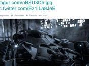 Zack Snyder muestra oficialmente Batimóvil usará Batman Supermán