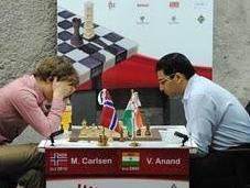 Nueva derrota Carlsen Shirov, Bilbao 2010
