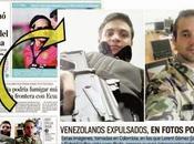 """Diario Tiempo"""" Colombia fotos Lorent Saleh Gabriel Valles"""