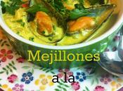 Mejillones Crema Curry