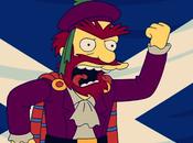 personaje Willie, Simpson, apoya Escocia independiente
