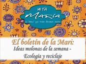 boletín Mari: Ideas molonas semana Ecología reciclaje