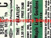 año: Sept.1964 Maple Leaf Gardens Toronto, Canadá