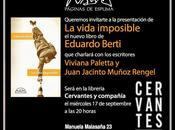 """Presentación Vida Imposible"""" Eduardo Berti"""