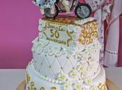 Tarta decorada bodas galletas