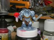 Cómo pintar exterminador Guardia Lobo. Cuarta parte