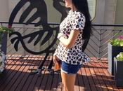 Camiseta Zara, look Animal Print