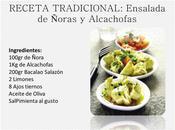 Ensalada Alchachofas Ñoras: Salud Tradición