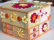 Alhajero hecho cajas fósforos