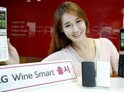 Wine Smart, vuelta teléfonos tapa formato flip.