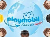 Playmobil celebra aniversario dejando figuritas sueltas distintas ciudades.