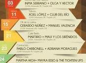 Alternativas Concierto 2014 Xoel López, Standstill, Rozalén, Martirio, Inma Serrano, Pablo Carbonell...