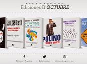 ¡Novedades Ediciones para Octubre!
