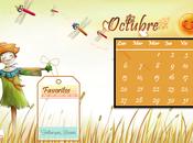 Calendario Blogueras Fandangueras Octubre
