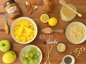 Recetas frugales: Snacks saludables