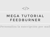 Tutorial Blogger: Personalizar suscripción mail (feedburner)