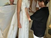 diseñadores Marco María confeccionan traje novia partir paracaídas Guerra Mundial