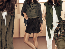 look militar persigue esta temporada