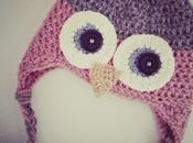 Tutorial como hacer gorro lana buho crochet