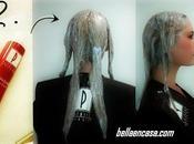 Barrido color cabello tinte