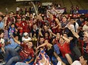 Cerro Porteño festeja años título Básquet