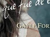 Reseña: Ella Gayle Forman