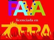 """venta Amazon novela autora valenciana Rosana Ample titulada """"Pava licenciada zorra"""""""