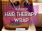 Hair Therapy Wrap para hidratar pelo afro