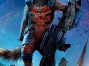 Mapache Cohete estaba primeros borradores Guardianes Galaxia