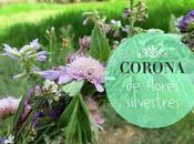 corona flores silvestres