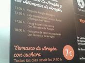 "participado: ""tapa blogssipgirl"" degusta aragón bloggers carpa ternasco)"