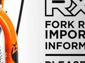 Orange Bikes sugiere revisar bicicletas posible riesgo quiebre horquilla