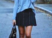 Mundo blogger: jersey falda
