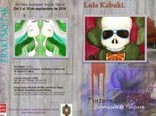 Inauguración exposición lola kabuki