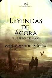 Reseña: leyendas ácora, libro nar. amelia martínez soria.