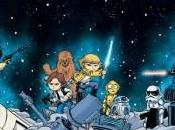 Portadas alternativas interconectadas Skottie Young para Star Wars