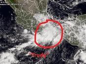 """tormenta tropical """"Trudy"""" tocó tierra Guerrero(México)"""