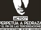 años asesinato MARIANO FERREYRA: ACTO PERPETUA PEDRAZA TERCERIZACIONES