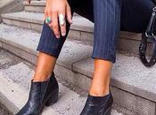 Street style inspiration; ankle boots.-