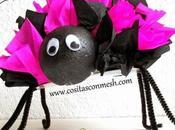 Cómo hacer arañas para halloween divertidas