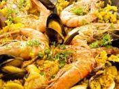 Paella marinera. Nutrición recetas