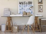 sencillo escritorio trabajo estilo