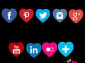 Como colocar iconos sociales blog