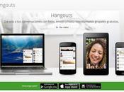 Hangouts ofrece minuto gratis llamadas internacionales países, incluido España algunos Latinoamérica