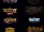 Capitán Marvel, Black Panther, Infinity Wars, Doctor Extraño, Inhumanos... Civil War.