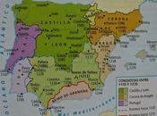 EJEMPLO COMENTARIO MAPA HISTÓRICO, AVANCE RECONQUISTA PENÍNSULA IBÉRICA DURANTE SIGLOS XIII, HISTORIA ESPAÑA BACHILLERATO