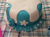 Trabajos dulces encantados. torta frozen para isabella