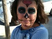 Maquillaje Halloween: Calavera Mexicana Mexican skull makeup, halloween